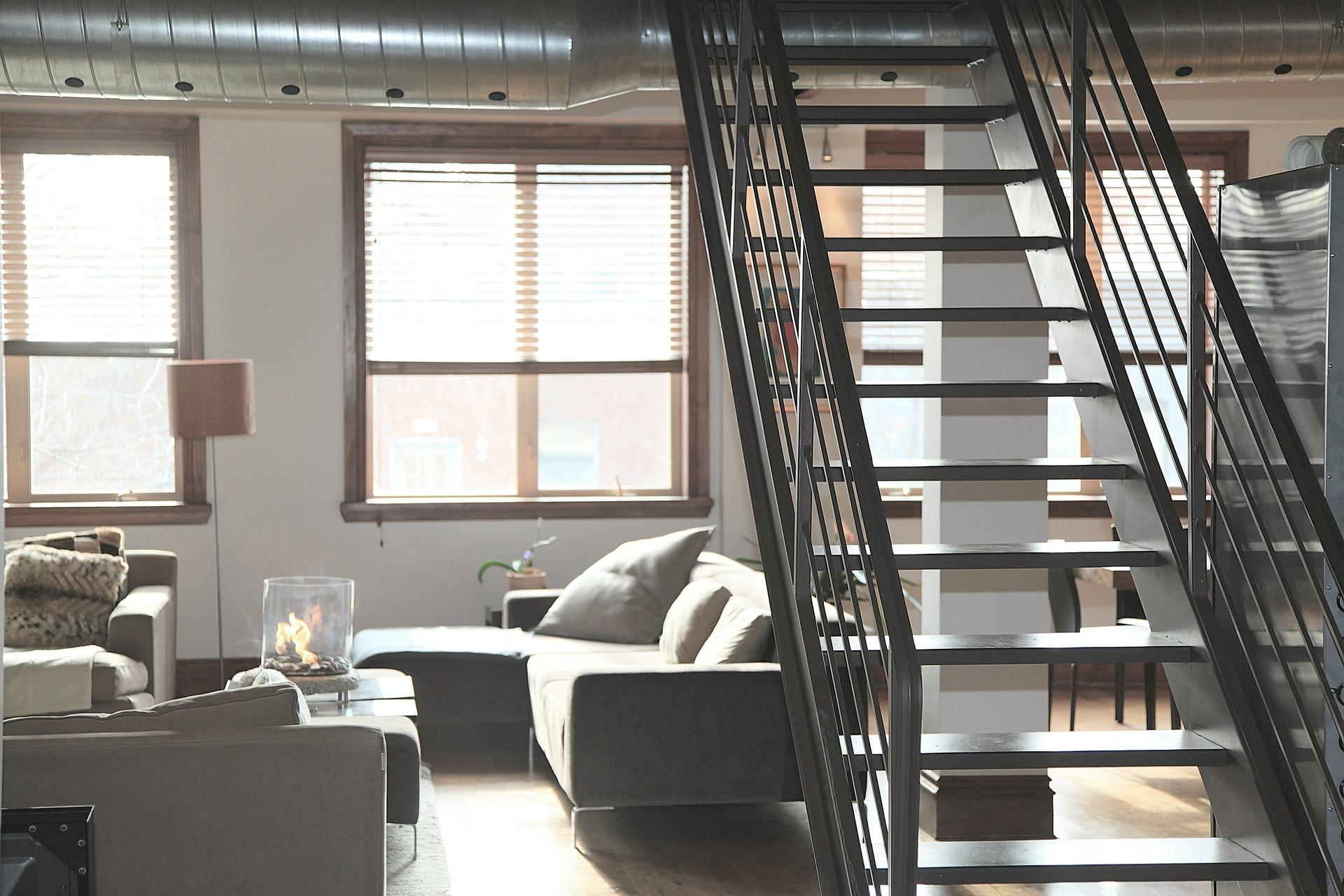 Schody pro rodinné domy a kanceláře