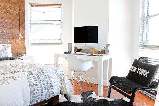 ložnice s pracovnou
